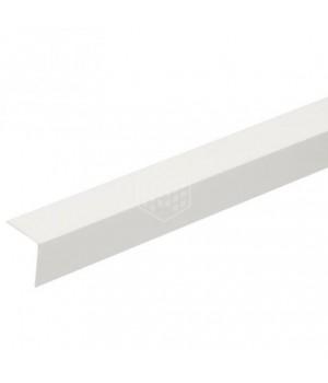 Угол ПВХ 15*15 белый 2,7 м СДМ (50шт/уп)