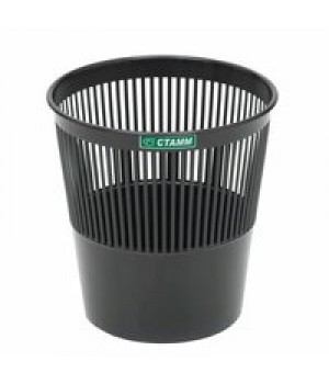 Корзина для мусора сетчатая 11 л. серая СТАММ КР22