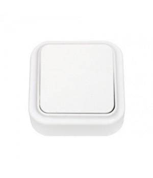 Выключатель 1 ОП  белый  ПРАЛЕСКА  А16-131   210104