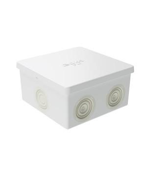 Коробка распределительная 84*84*45мм, 6 вводов