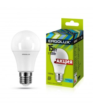 Лампа Светодиод. А155 17Вт E27 4К Ergolux