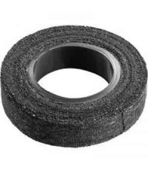 Изолента х/б прорезиненая черн. ширина 18 мм,Сибин 25 м 1230-25