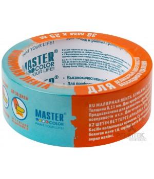 Скотч малярный синий для деликатных поверхностей MASTER COLOR 30-6133