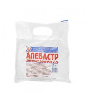 Алебастр строительный Г5В1 (25кг) белый