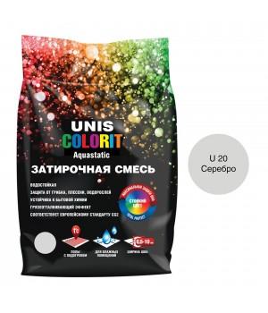 Затирка серая ЮНИС п/э 2 кг