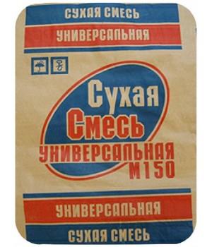 Сухая смесь универсальная М150 (25кг) Брянск