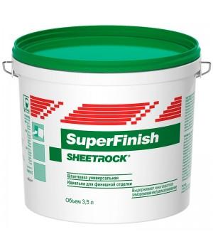 Шпатлевка ДАНОГИПС (ШИТРОК) СуперФиниш 5,0кг. (зеленая)