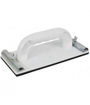 Терка для шлиф.бумаги с мет. прижимом пластиковая 230*80мм FIT 39731