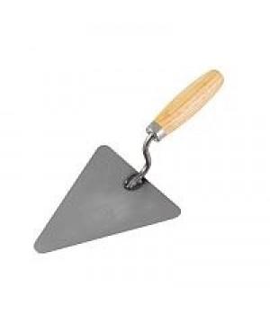 Кельма каменщика (треугольник) с дер. ручкой СИБИН код 0820-2_z01