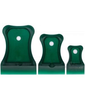 Шпатели, мягкий пластик, 40/60/80 мм, набор 3 шт., цветные