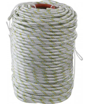 Шнур плетеный капроновый 12мм, 24-прядный, 2200кгс СИБИН  код 50220-12