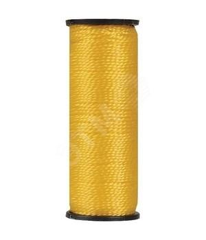 Шнур разметочный капроновый FIT диам 1,5 мм*50 м желтый код 04712
