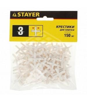 Крестики для кафеля 3,0 мм (150 шт) STAYER 3380-3