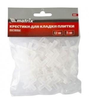 Крестики для кафеля 6,0 мм (75 шт)