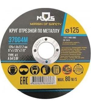 Круг по металлу 125*1,0*22 мм MOS 37004M