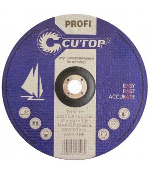 Круг шлифовальный по металлу 180*6*22 Т27 COTOP 39990