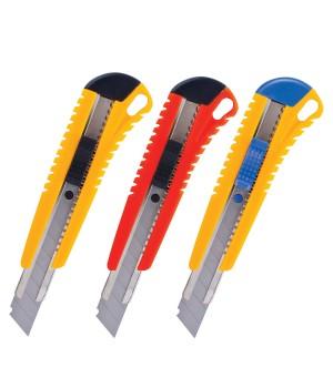 Нож 18 мм  технический упрочнен. БИБЕР   код 50114