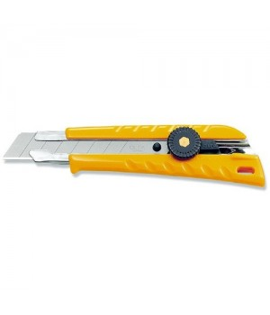 Нож 18 мм OLFA с эргонамичный с рез. накладками OL-L-2