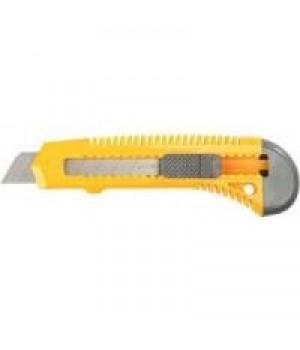 """Нож 18 мм STAYER """"MASTER"""" с выдвижным сегментир.лезвием,автоыиксация,18 ммкод 0914"""
