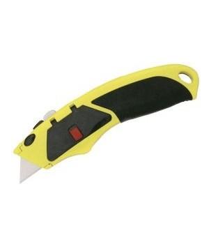 Нож 18 мм метал. корпус технический упрочнен. БИБЕР   код 50116