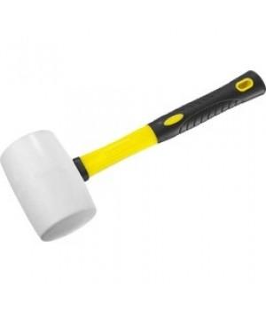 Киянка с фиберглассовой ручкой 900 гр,белая 20533-900