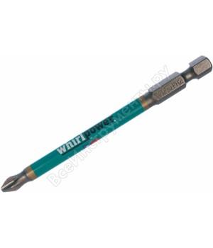 Бита PH2 90мм FITПрофи, WP, сталь S2, с насечкой (10шт)  код 57580