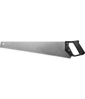 Ножовка по дереву, 5 TPI, универсальный разведенный зуб, 500мм 1518-50