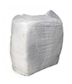 Ветошь х/б хлопок белый (10кг)