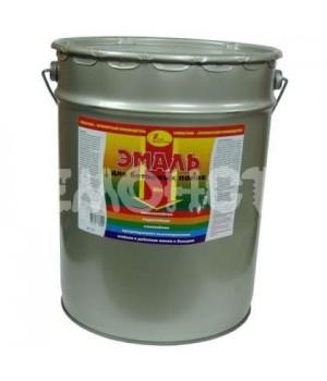 Эмаль для бетонных полов серая 20 литр НовБытХим