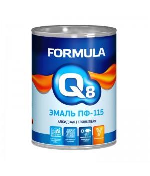 Эмаль ПФ-115 белая 0,9 кг  FORMULA