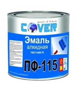 Эмаль ПФ-115 изумруд  20 кг Славен