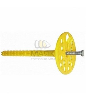 Дюбель для изол. мат. 10*260 с метал. гвоздем (400ф)