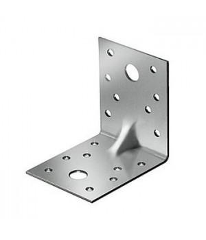 Уголок крепежный оцинк.усиленный 50*50*35*2,0мм(25ф)